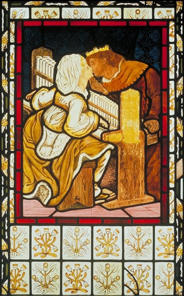 'Music': panel of Stained Glass