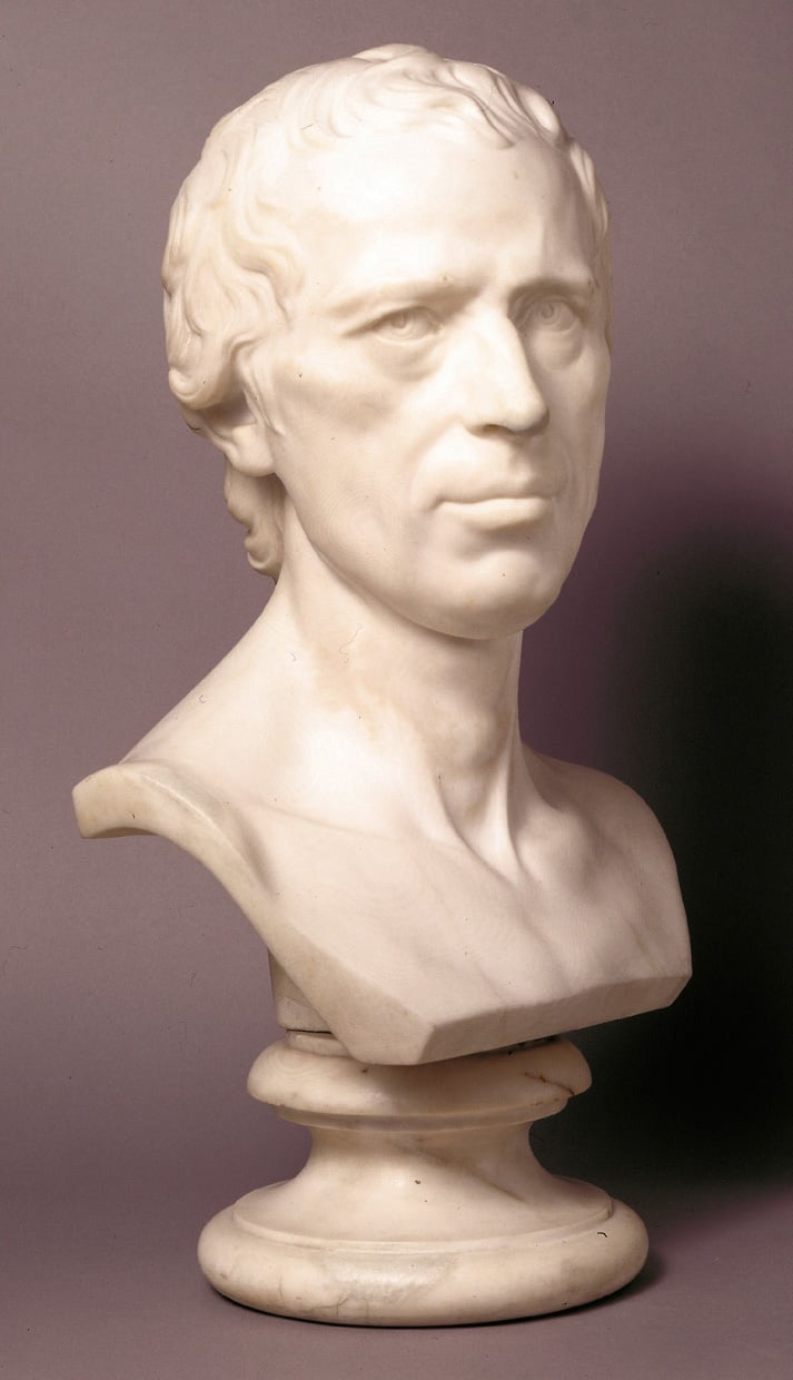 Bust of the Rev Laurence Sterne