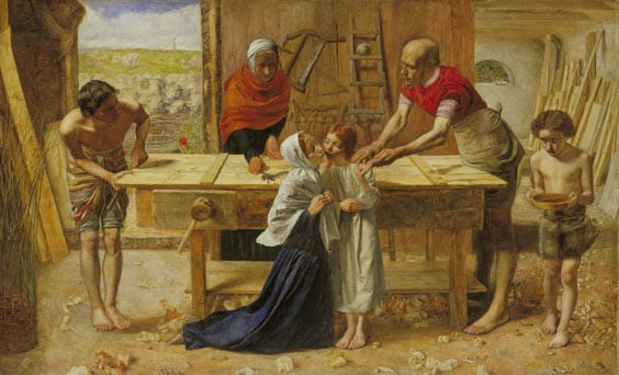 Christ in the House of his Parents ('The Carpenter's Shop')