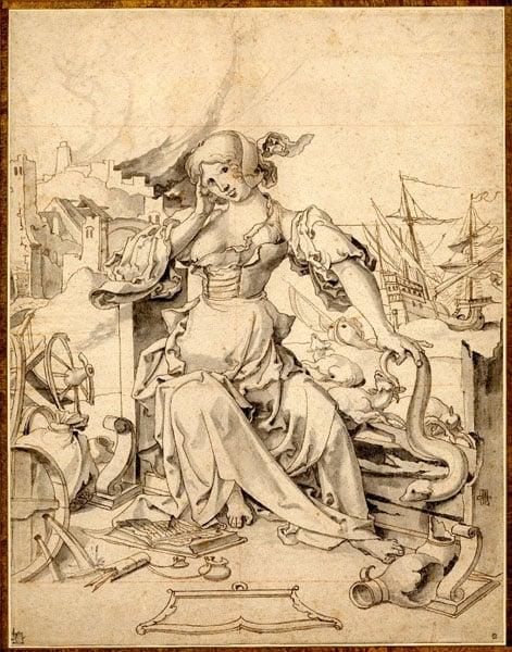 Allegory of Ill Fortune