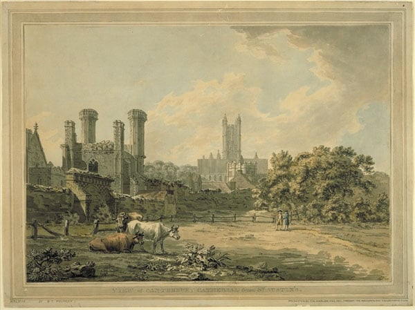 Canterbury Cathedral and St Augustine's Gateway