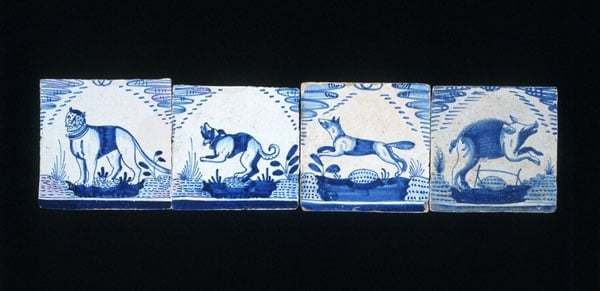 Collection of Dutch tiles