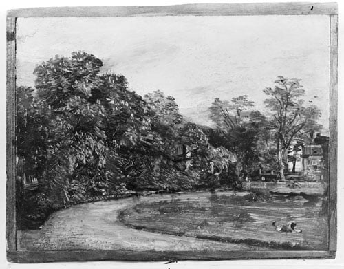 A view of Golding, Constable's House at East Bergholt
