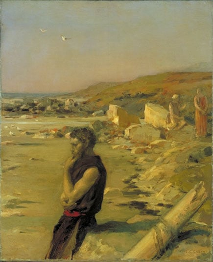 Ulysses after the Shipwreck