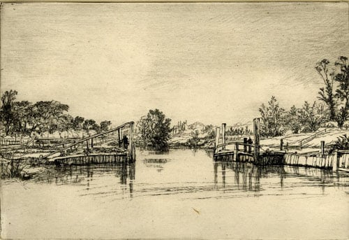 Collecton of engravings and etchings