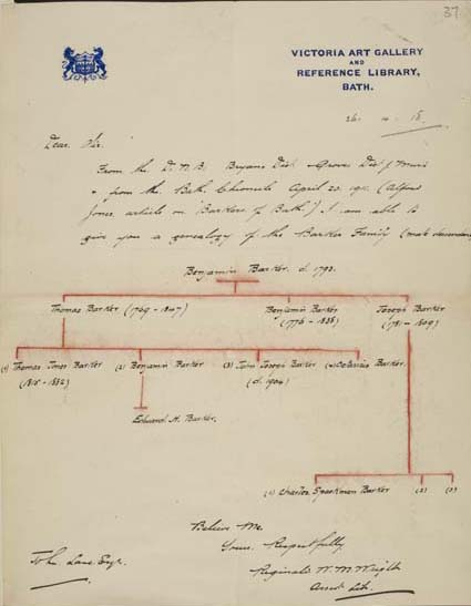 Prout and Northcote Papers, and letters to John Lane