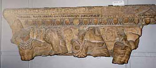 Portion of a Marble Sarcophagus