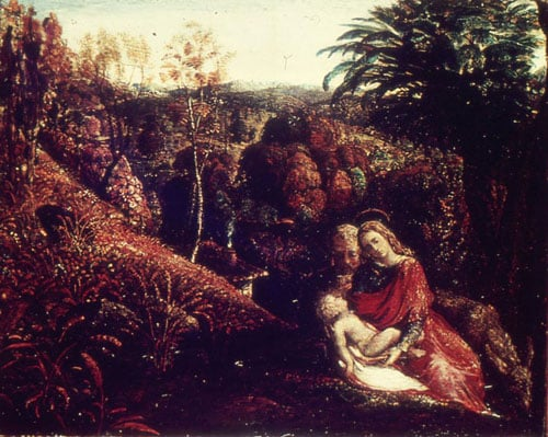 Landscape with Repose of the Holy Family