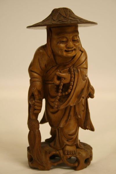Chinese Wooden Figure