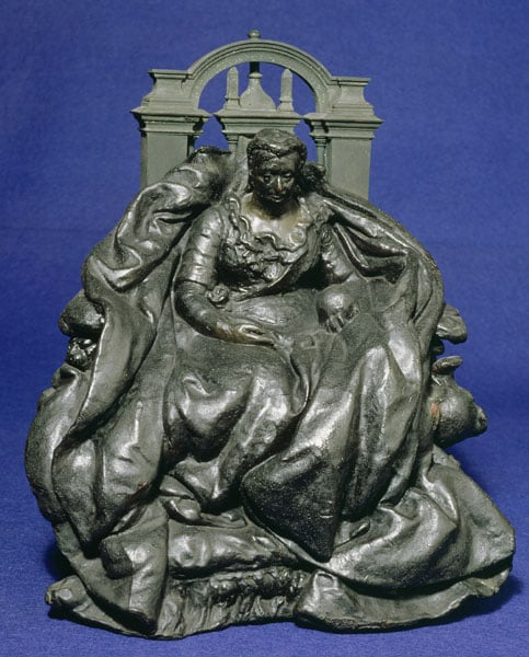 The Winchester Memorial, 4 Sculptural Models, Medallion & Spoon