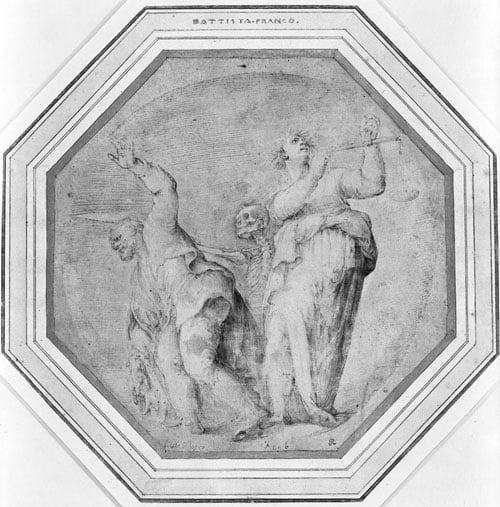 An Allegory of Life and Death (study)