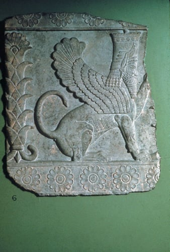 Relief of a Sphinx