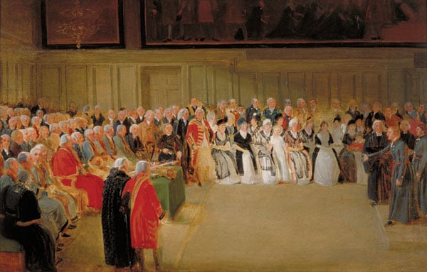 The Annual Orations in the Great Hall at Christs Hospital