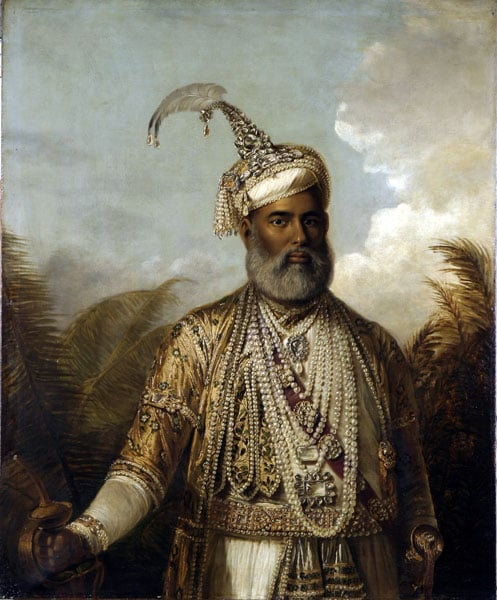 Portrait of the Nabob of Arcot