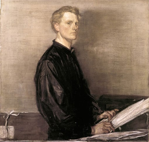 Self portrait of Charles Shannon