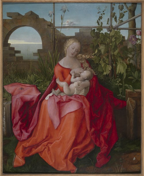 The Virgin and Child (The Madonna with the Iris)