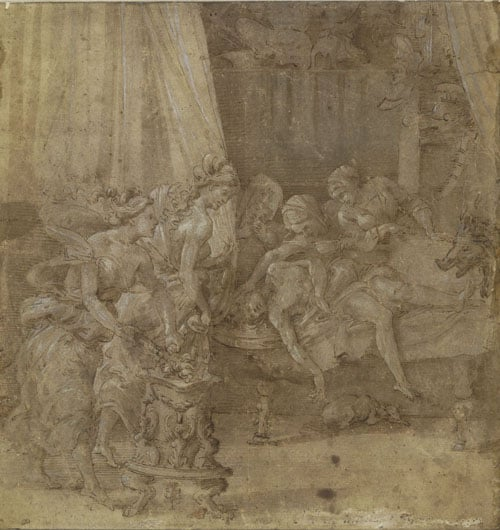 The Death of Meleager