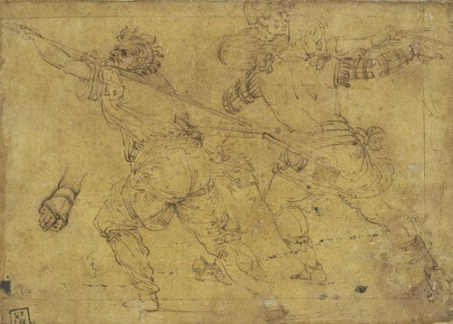 Studies for a Christ Carrying the Cross