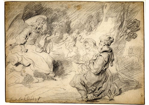 The Angel Appearing to Isaac