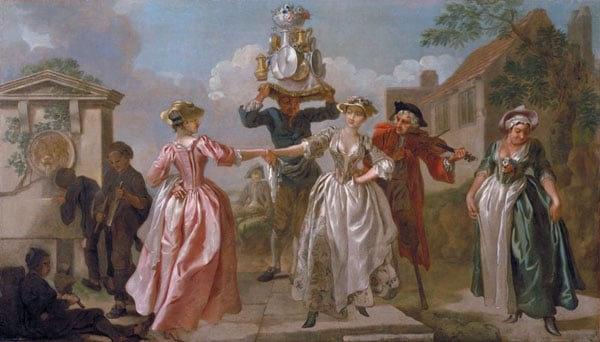 The Milkmaid's Garland or Humours of May Day