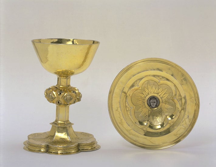 Silver-gilt Chalice and Paten