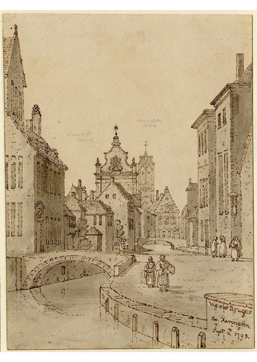 Two Views at Bruges