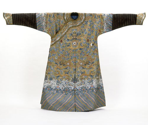 Collection of Chinese Robes, Silks and Embroideries