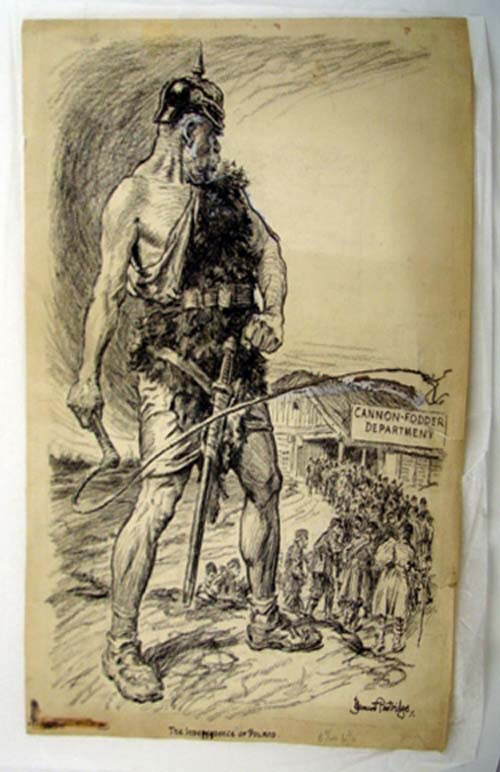 The Independence of Poland & Charcoal Sketches