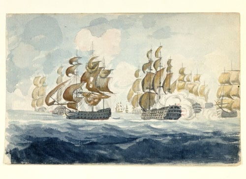 Lord Bridport's Action off L'Orient at the Close of the Action