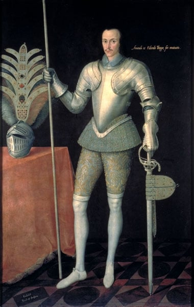 Portrait of Robert Radcliffe, 5th Earl of Sussex (1569-1629)