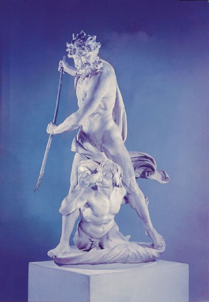 Neptune and Glaucus
