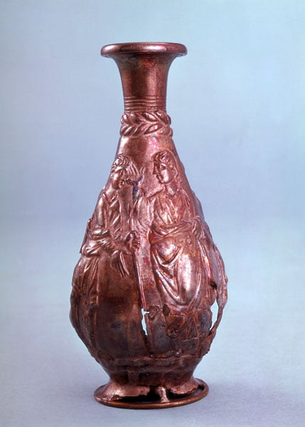 Early Christian Silver Vase
