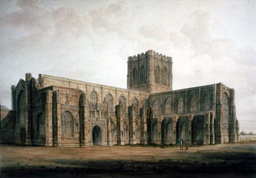 South West view of Chester Cathedral
