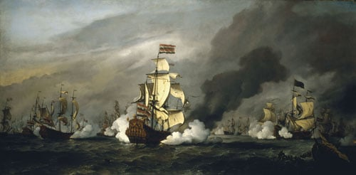 The Battle of Texel, 11-21 August 1673