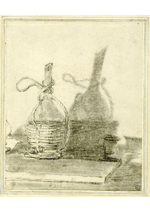 Study of a flask