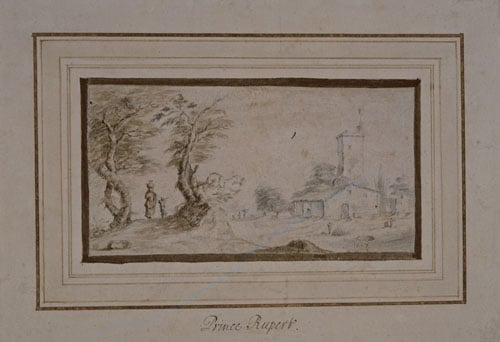 Landscape in the manner of Callot