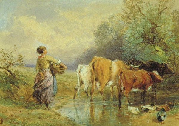 Cattle at a Ford