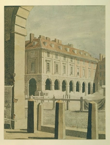 View of Piazza, Covent Garden