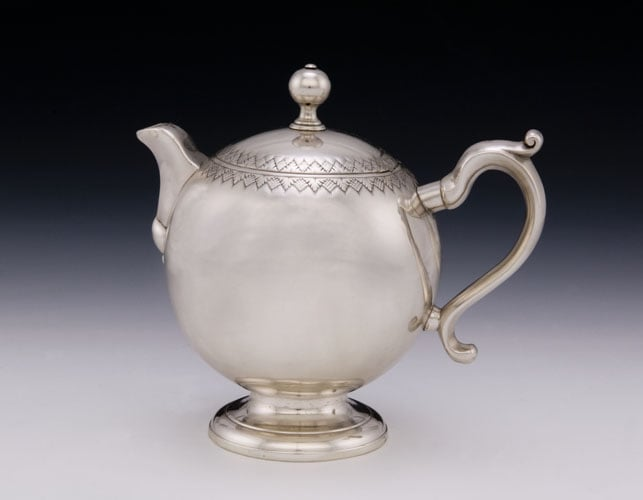 Cream Ewer and Cover