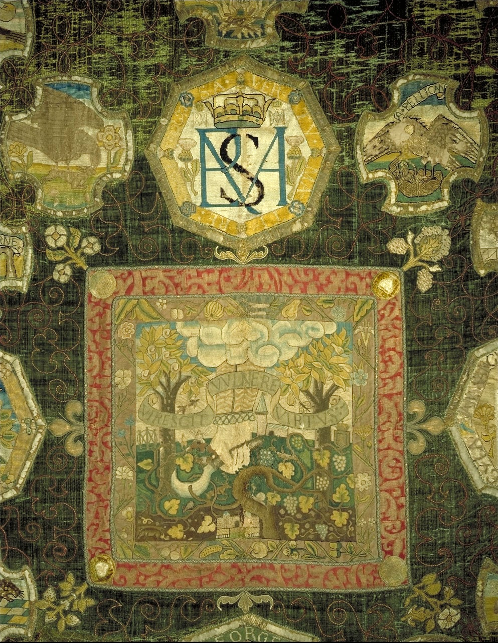 The Oxburgh Embroideries