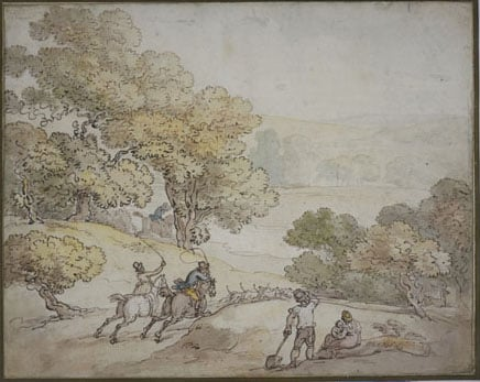 Collection of Drawings by Thomas Rowlandson