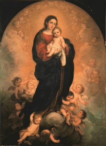 The Virgin and Child in Glory (La Vierge Coupee)