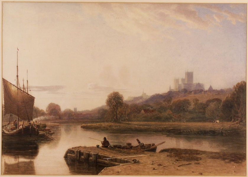 Lincoln Cathedral from the River