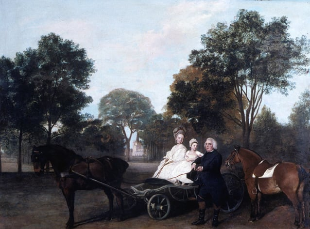 The Reverend Thelwall Carter and Family