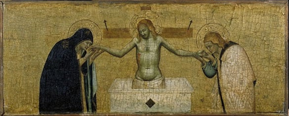 Dead Christ with the Virgin and St. John