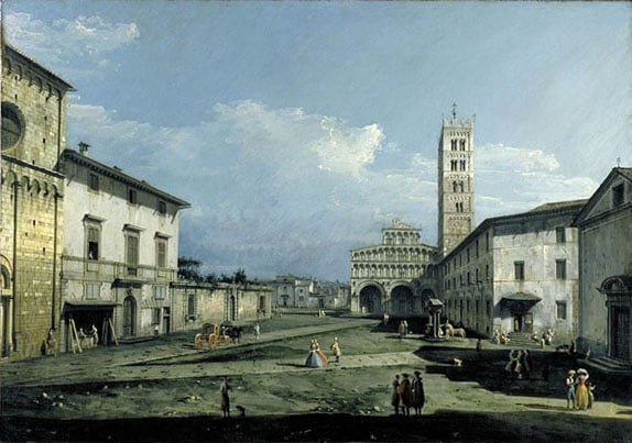The Piazza San Martino and the Cathedral, Lucca
