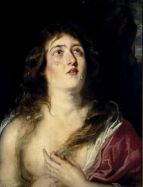 The Magdalen after Titian