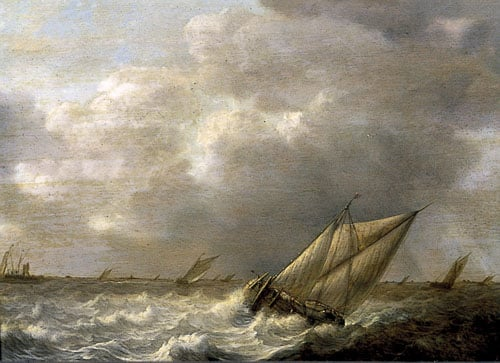 Seascape, with Galliots
