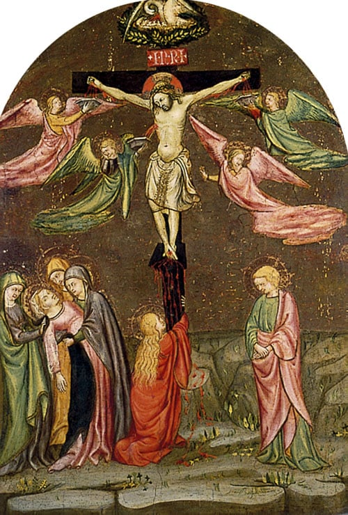 Crucifixion with the Virgin, St John and the Magdalene
