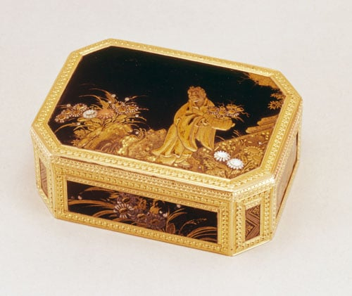 Japanese Lacquer Snuff-Box